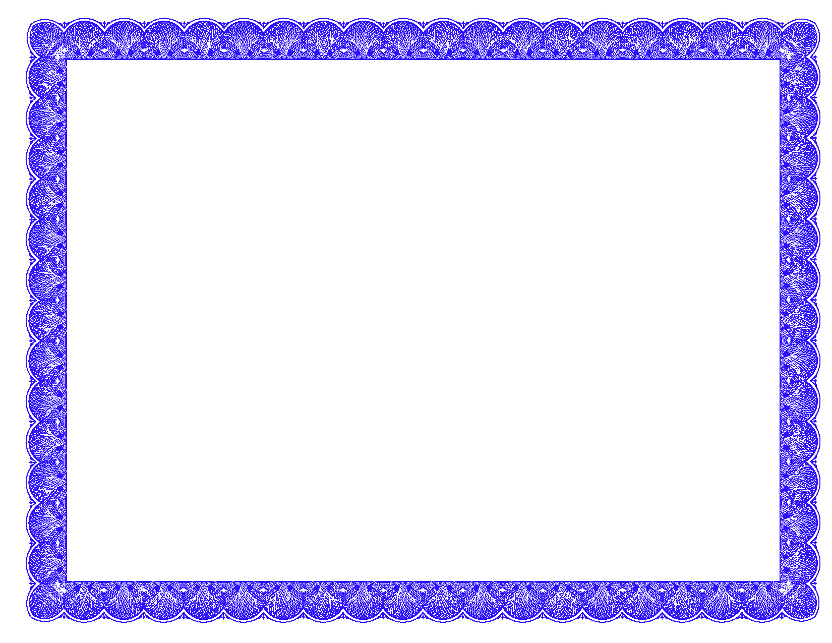 Fancy Gift Certificate Template Elegant Fancy Borders