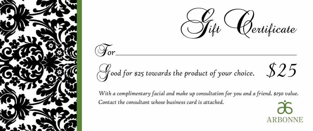 Fancy Gift Certificate Template Elegant Fancy Gift Certificate Template Template Update234