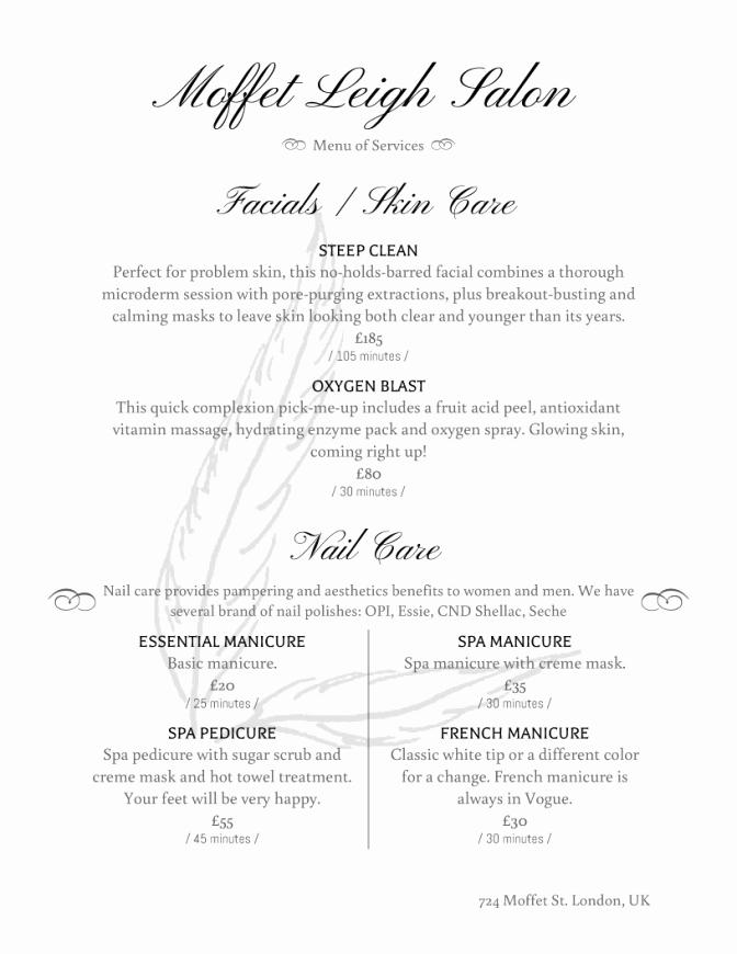 Fancy Restaurant Menu Template Beautiful Coloring Sheet Tremendous Fancy Menu Design Ideas
