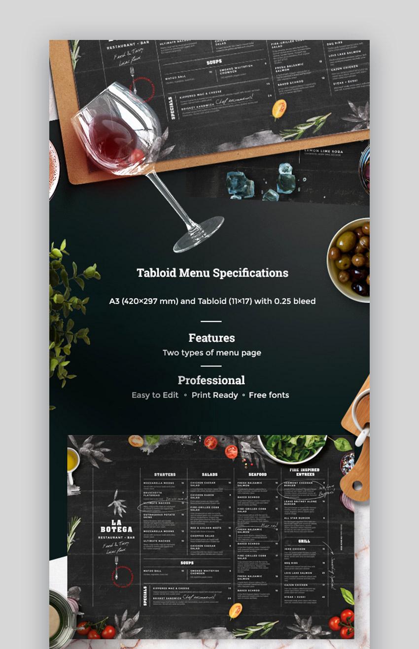 Fancy Restaurant Menu Template Fresh 20 Cool Restaurant Food Menu Templates Best Modern