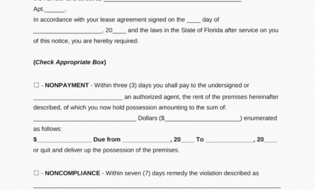 Florida Eviction Notice Template Lovely the Real Reason Behind 15