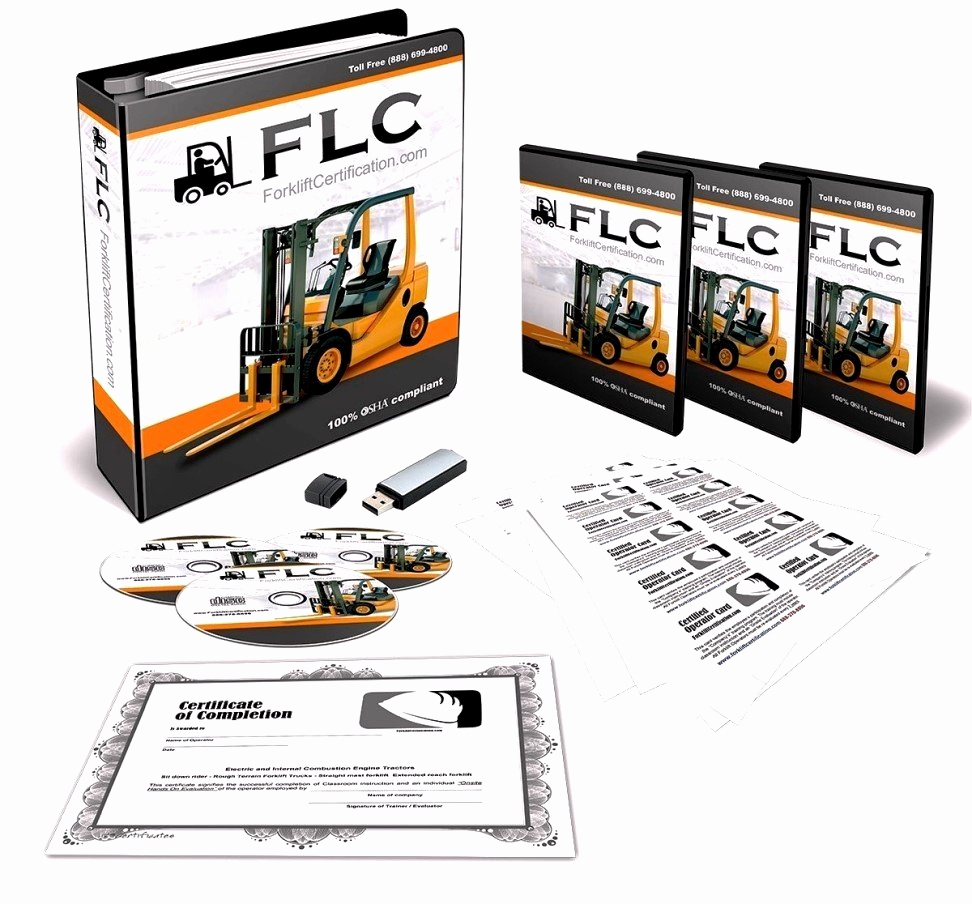 Forklift Training Certificate Template Best Of Equipment Operator Certification Card Template