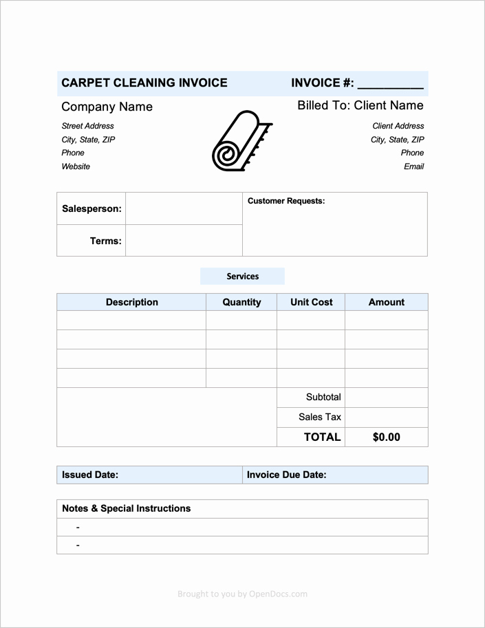 Free Cleaning Invoice Template Fresh Free Carpet Cleaning Invoice Template Pdf Word