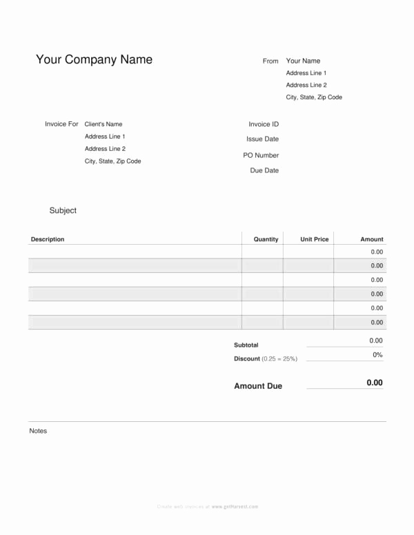 Free Cleaning Invoice Template Luxury Free 20 Small Business Invoice Templates In Google Docs