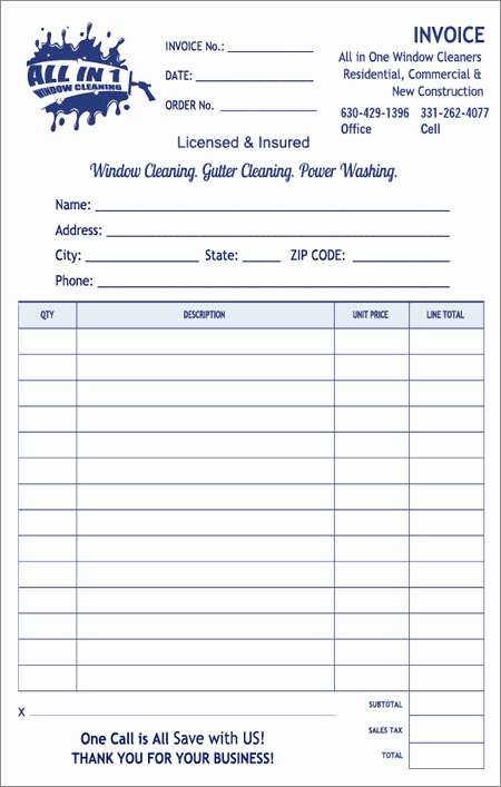 Free Cleaning Invoice Template Luxury Window Cleaning Invoice
