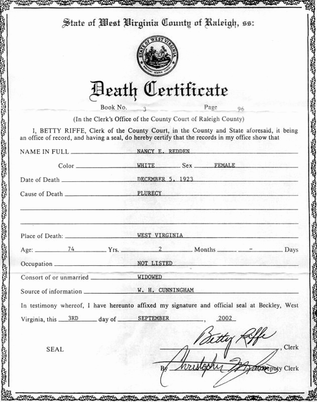Free Death Certificate Template Inspirational Death Certificates Templates Template