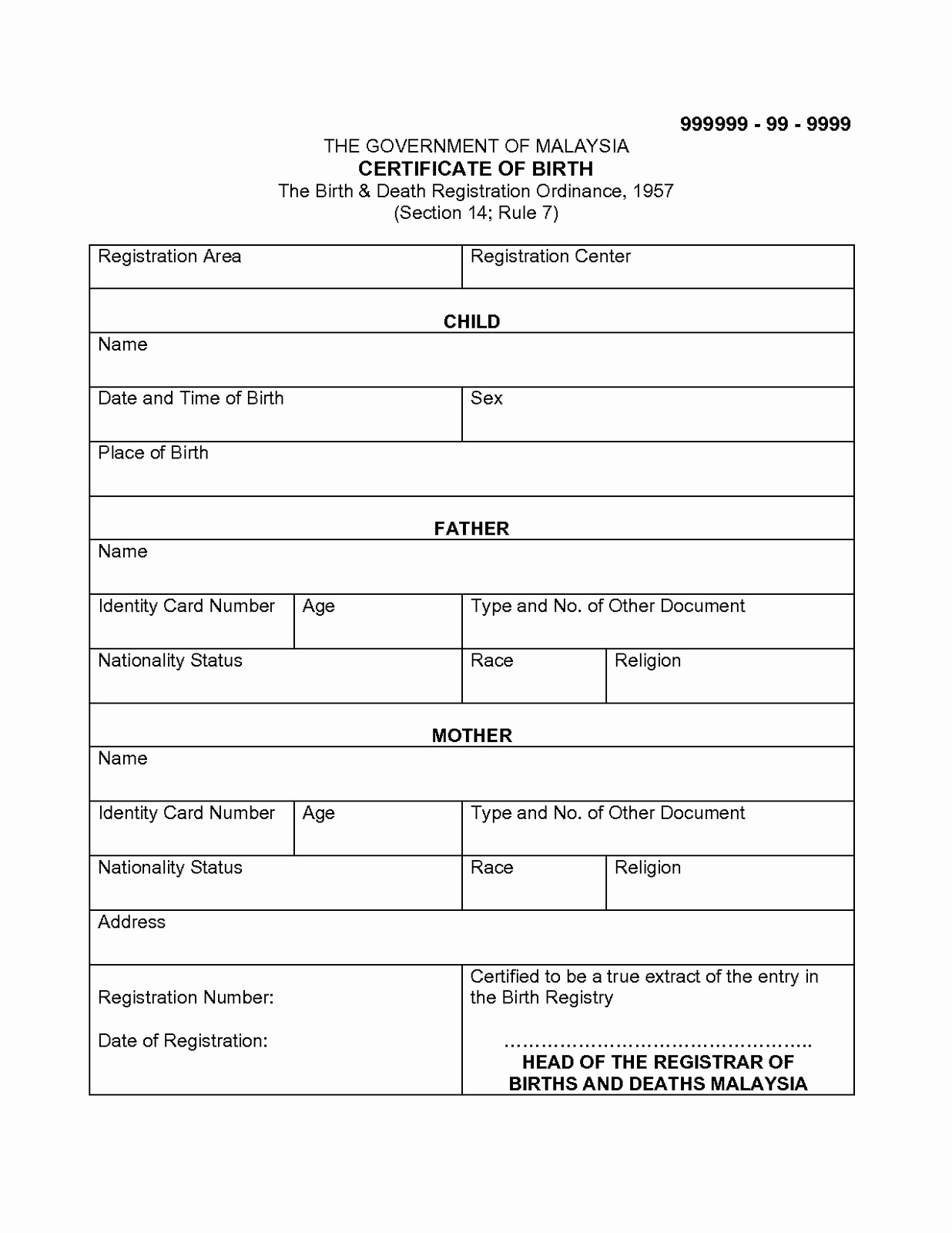 Free Death Certificate Template Lovely Certificate Templates 6 Best Of Marriage
