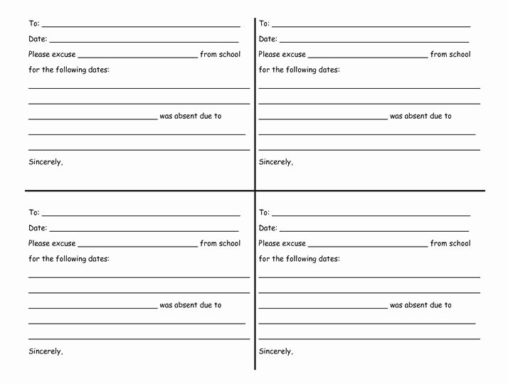 Free Doctor Note Template Download Unique 27 Free Doctor Note Excuse Templates Free Template
