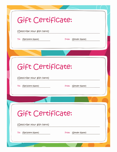 Free Downloadable Gift Certificate Template Beautiful Certificate Templates Download Amp Free Certificate
