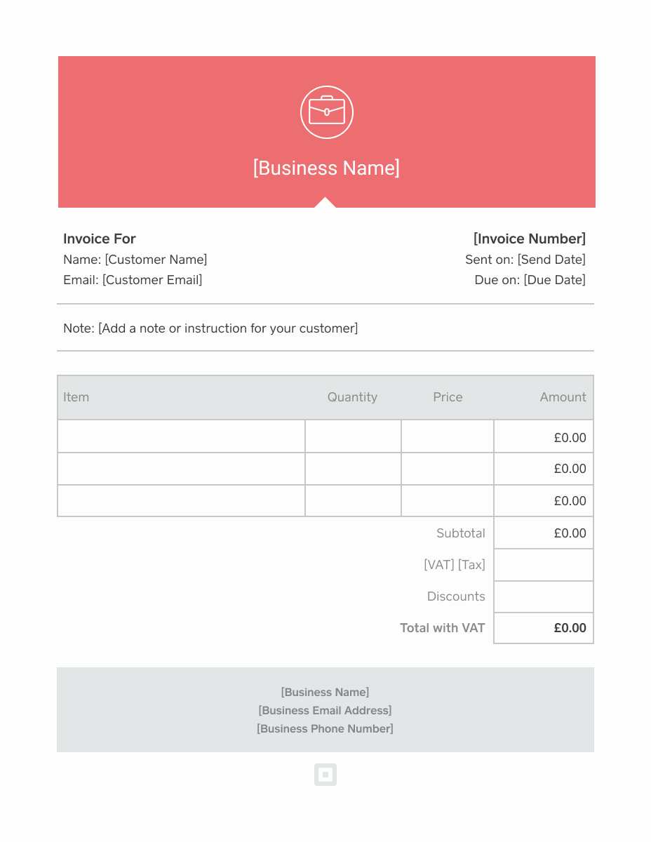 Free Editable Invoice Template Luxury Invoice Template Generate Custom Invoices
