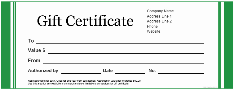 Free Gift Certificate Template Printable Elegant Certificate Templates Download Amp Free Certificate