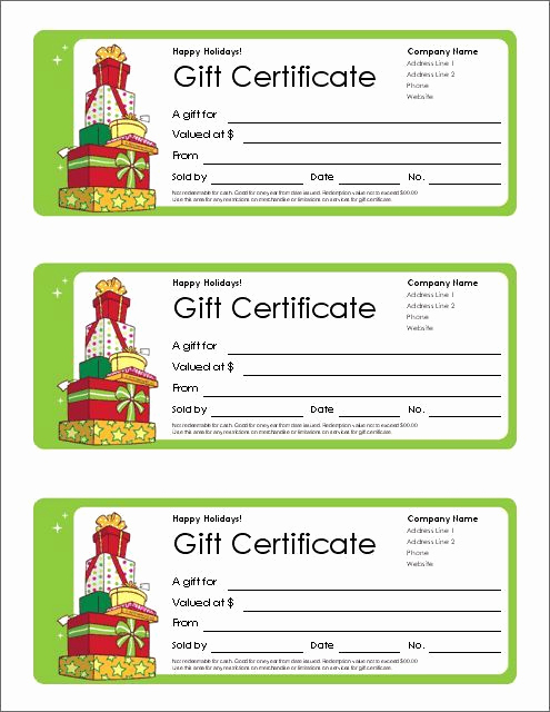 Free Holiday Gift Certificate Template New Image Result for 12 Days Of Christmas Mary Kay 2015