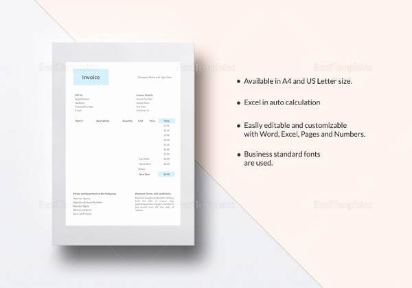 Free Hvac Invoice Template Luxury Sample Hvac Invoice Template 13 Download Documents In
