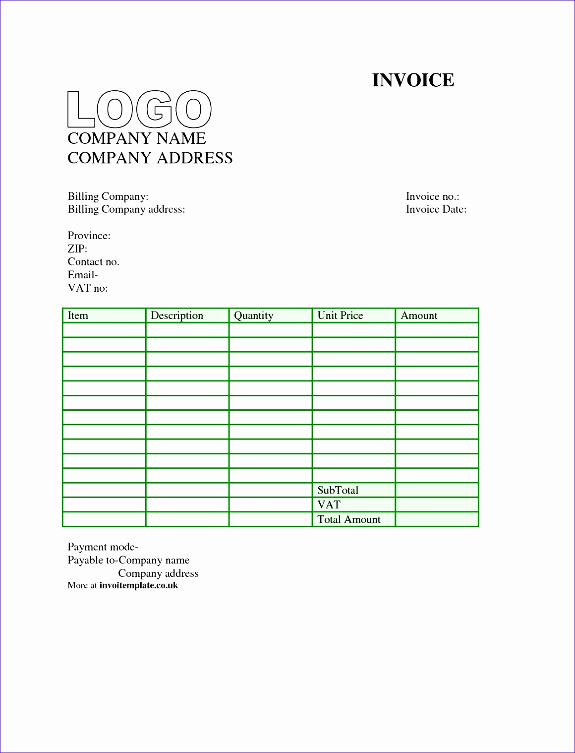 Free Invoice Template for Mac Best Of 14 Invoice Template Nz Excel Exceltemplates Exceltemplates