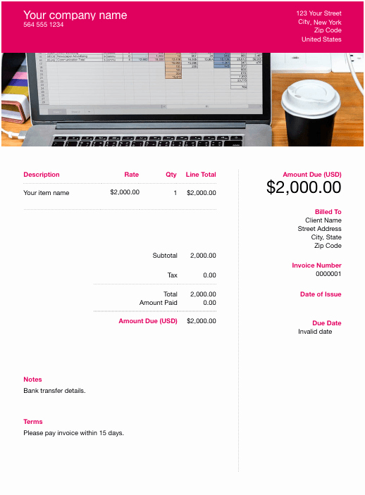 Free Invoice Template Google Docs Luxury Free Google Docs Template Download & Customize