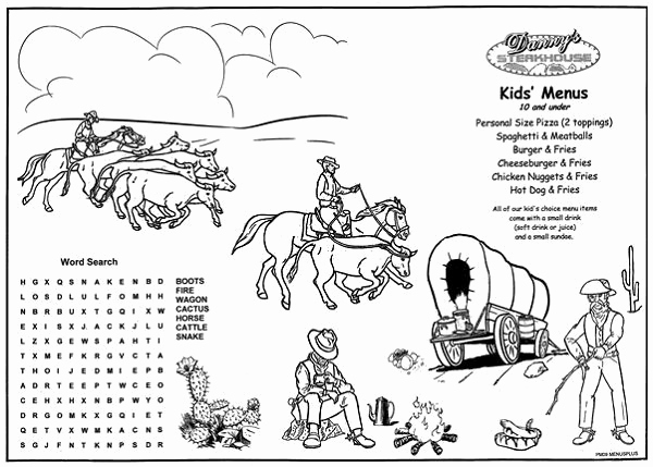 Free Kid Menu Template Lovely Kids Coloring Placemats 5170