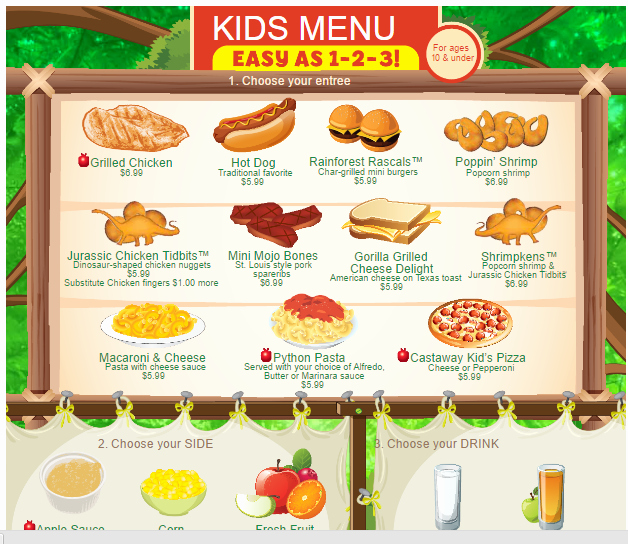 Free Kid Menu Template Unique Menu Templates