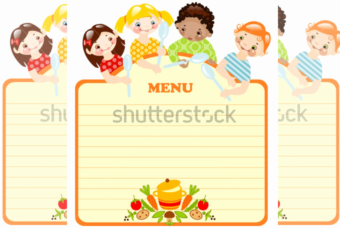 Free Kids Menu Template Fresh Kids Menu Template 27 Free Psd Eps Documents Download