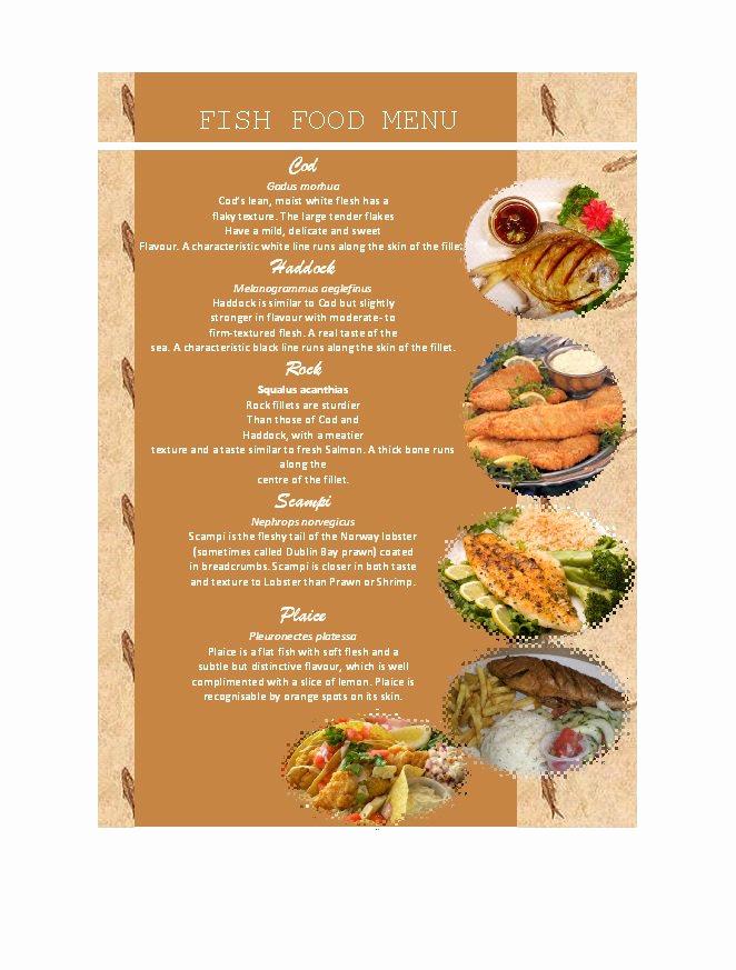 Free Menu Template Word Elegant 31 Free Restaurant Menu Templates & Designs Free