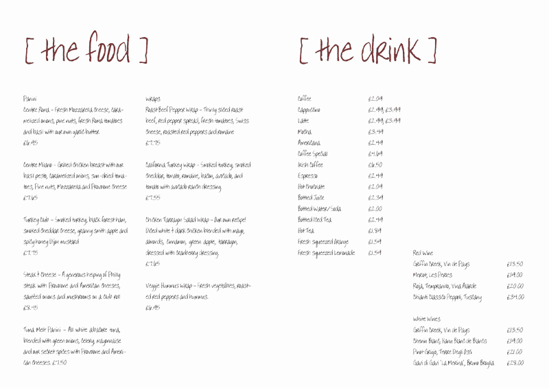 Free Menu Template Word New 21 Free Free Restaurant Menu Templates Word Excel formats