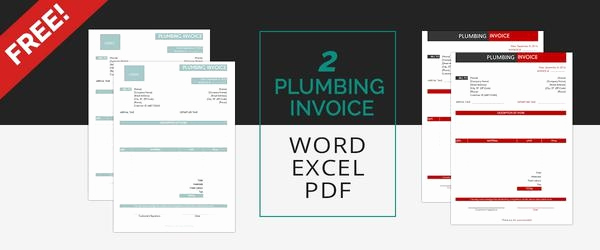 Free Plumbing Invoice Template Beautiful Invoice Template 15 Free Word Excel Pdf Document