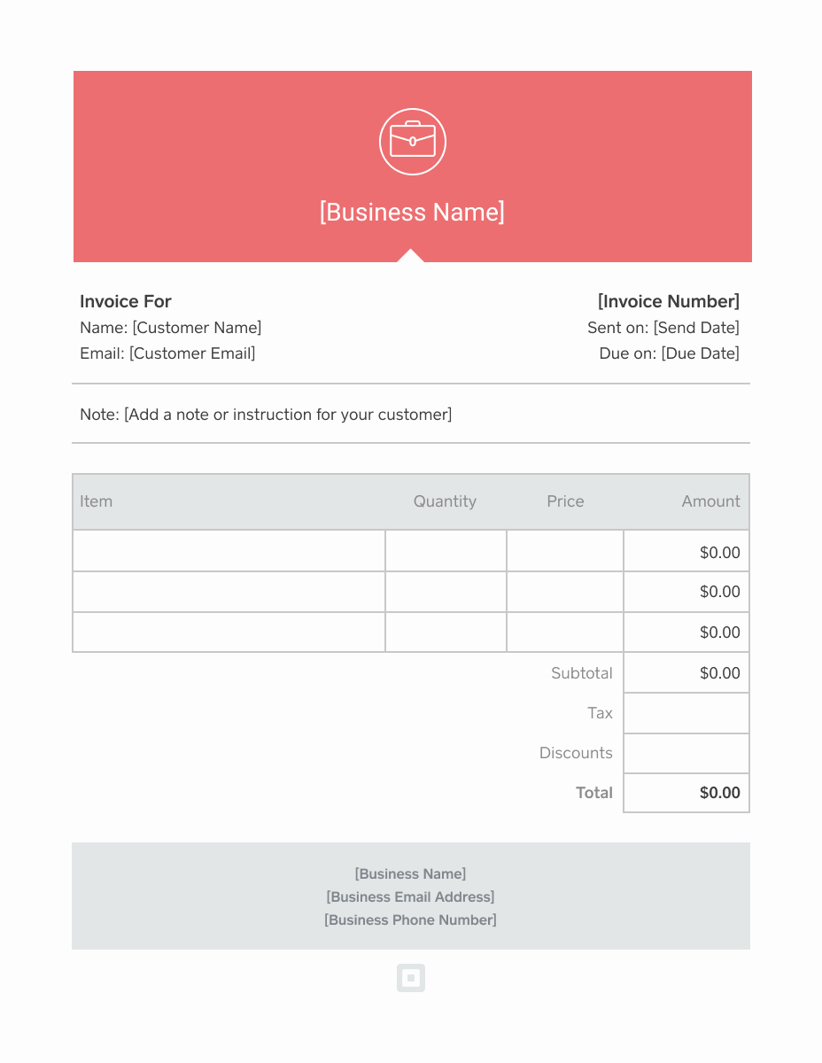 Free Printable Invoice Template Word New Invoice Template Generate Custom Invoices