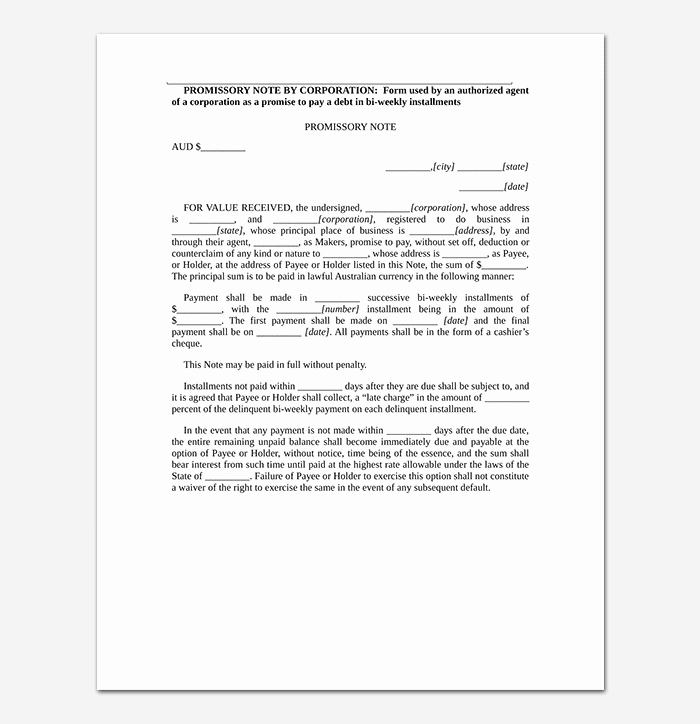 Free Secured Promissory Note Template Best Of Promissory Note Template 20 Free for Word Pdf