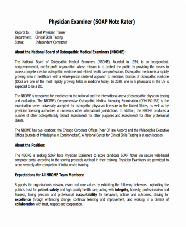 Free soap Note Template Lovely soap Note Example – Free Download