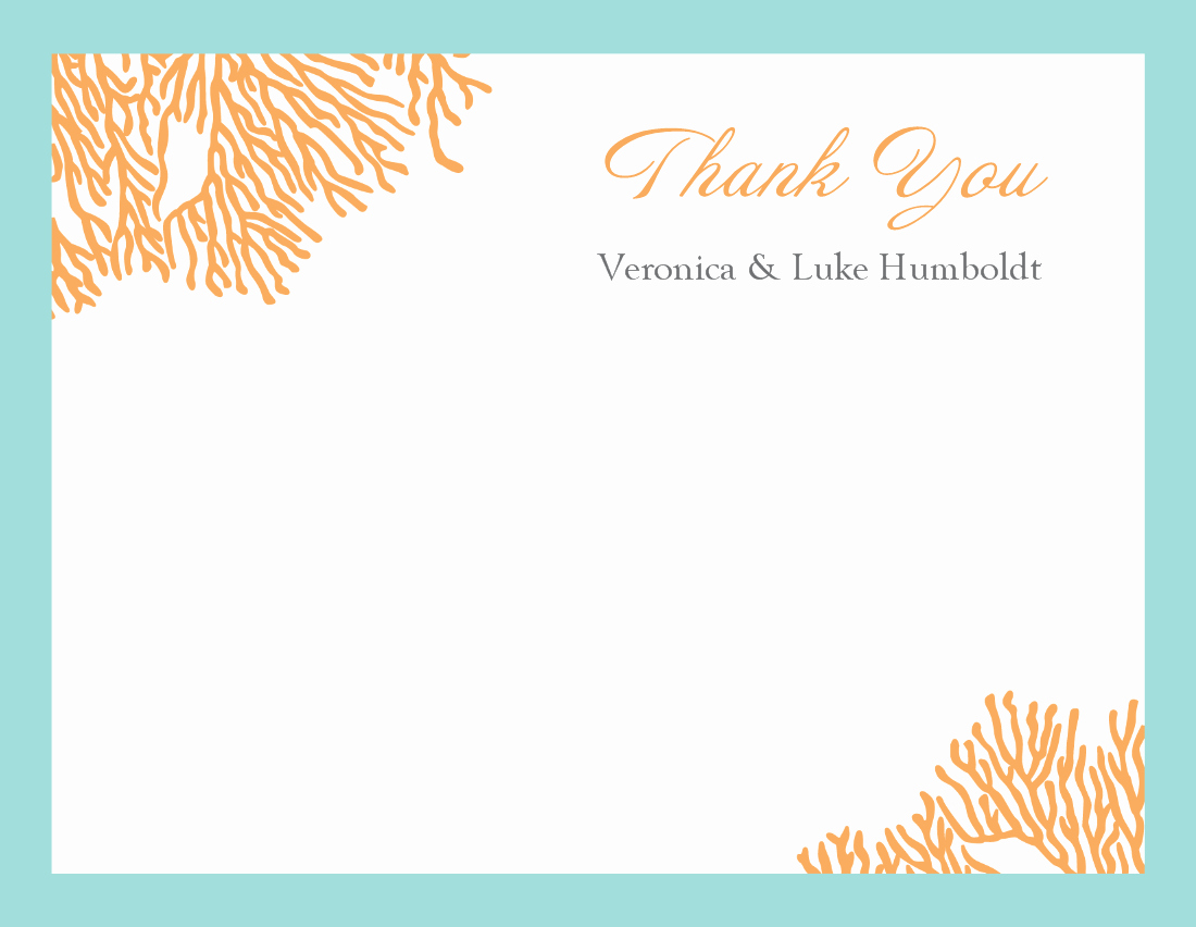 Free Thank You Note Template Lovely Thank You Template