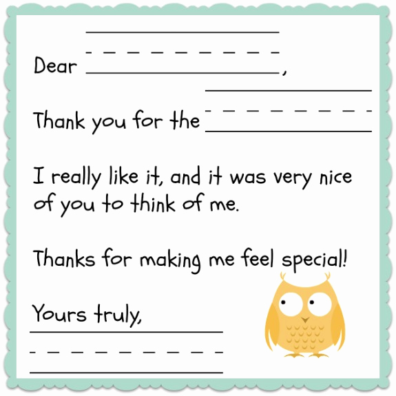 Free Thank You Note Template Luxury Thank You Template