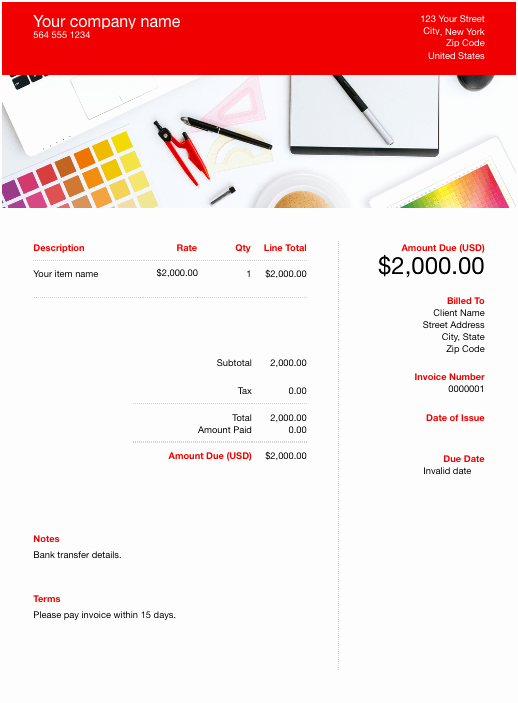 Freelance Graphic Design Invoice Template Fresh Invoice Template Send In Minutes