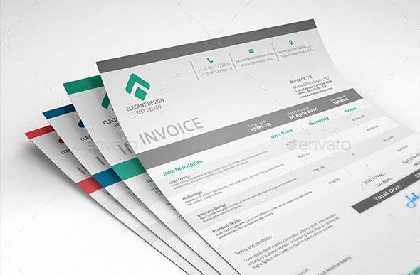 Freelance Graphic Design Invoice Template Unique 37 Best Psd Invoice Templates for Freelancer – Bashooka