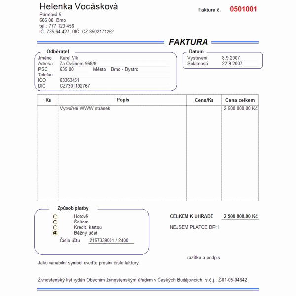 Freelance Writing Invoice Template Awesome Invoicing for Freelance Work