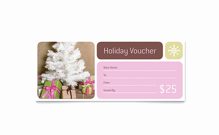 Full Page Gift Certificate Template Elegant Contemporary Christmas Gift Certificate Template Word