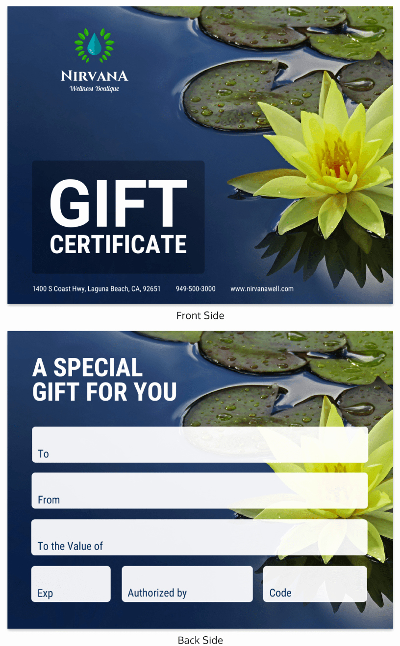 Funny Gift Certificate Template Best Of Creative Gift Certificate Template Venngage