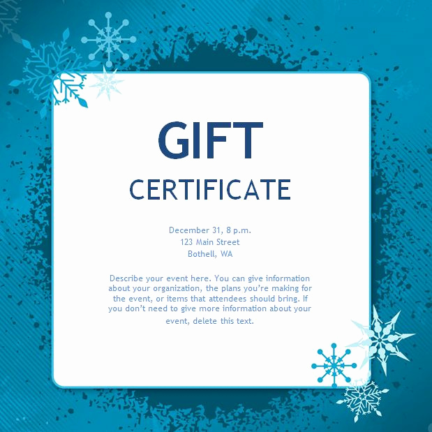 Funny Gift Certificate Template Best Of Free Gift Certificate Templates You Can Customize