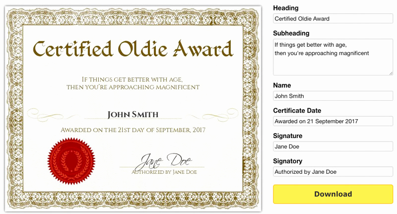 Funny Gift Certificate Template Best Of Free Printable Gag Certificates