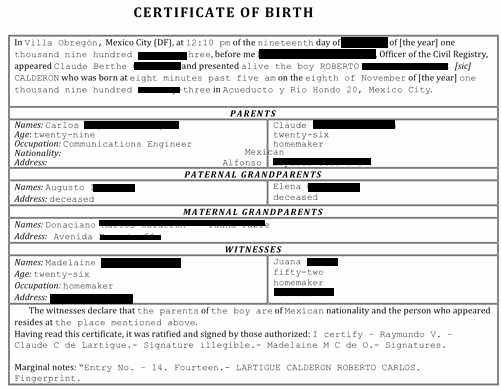 German Birth Certificate Template Fresh Birth Certificate Translation Certified & Notarized In