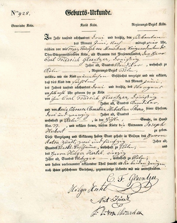 German Birth Certificate Template Fresh German Records – the National Institute for Genealogical