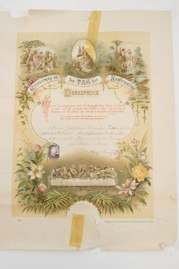 German Birth Certificate Template Inspirational Pin On Ephemera Papyrus