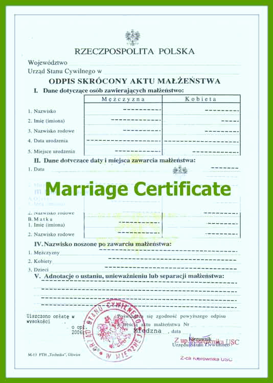 German Birth Certificate Template Luxury Ficial Marriage Certificate Translation In toronto