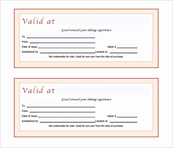 Gift Certificate Template Free Pdf Best Of Gift Certificate Template – 34 Free Word Outlook Pdf