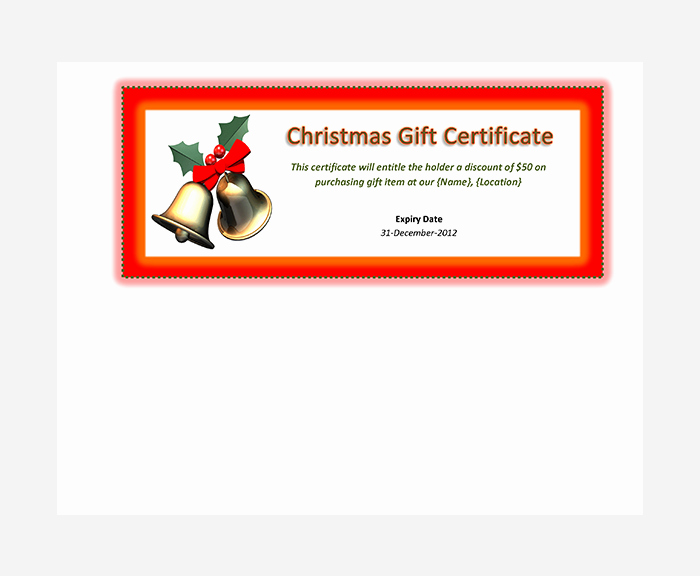 Gift Certificate Template Free Pdf Fresh 44 Free Printable Gift Certificate Templates for Word & Pdf