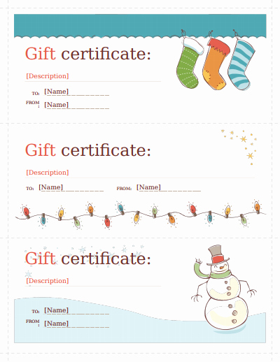 Gift Certificate Template Free Pdf Unique Gift Certificate Template Free Download Create Fill