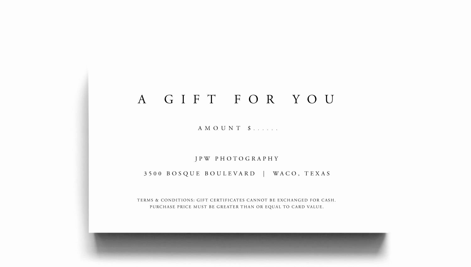 Gift Certificate Template Printable Unique Gift Certificate Template A Gift for You Gift Voucher