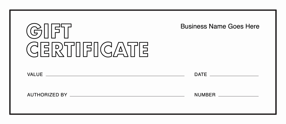 Gift Certificate Template Printable Unique Gift Certificate Templates Download Free Gift