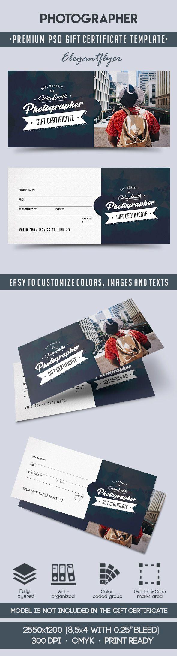 Gift Certificate Template Psd Fresh Grapher – Premium Gift Certificate Psd Template – by