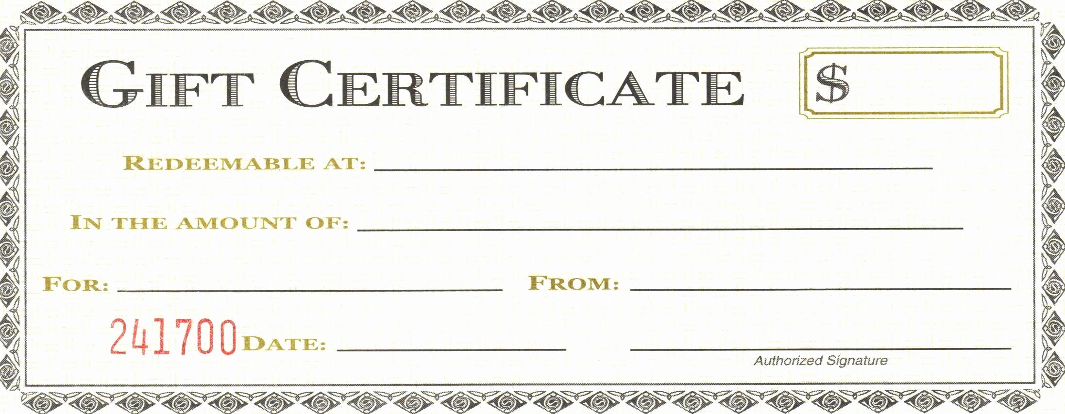 Google Docs Gift Certificate Template Elegant Gift Certificate Google Doc Template