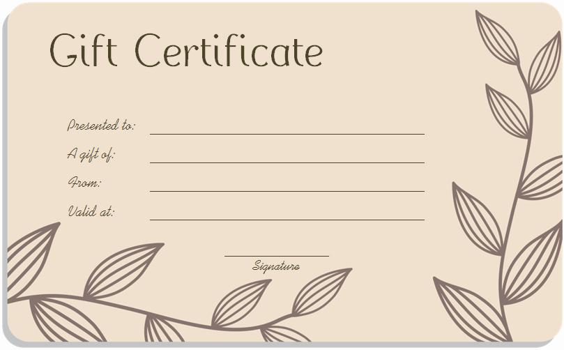 Google Docs Gift Certificate Template Elegant Gift Certificate Template Google Docs – Planner Template Free