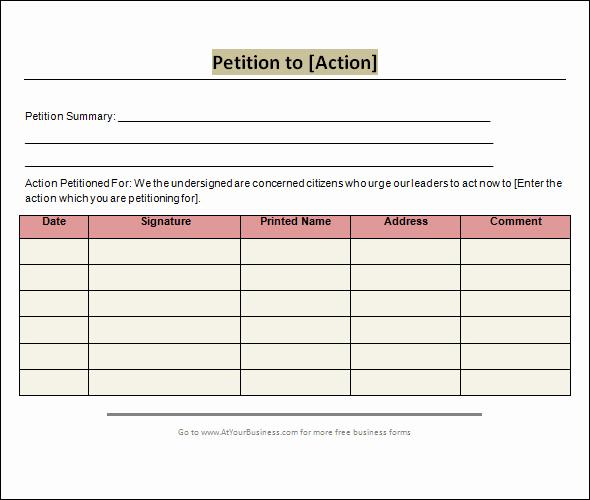 Google Docs Gift Certificate Template Elegant Petition Template Google Docs